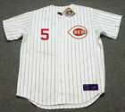 JOHNNY BENCH Cincinnati Reds 1967 Majestic Throwback Home Baseball Jersey on Ebay