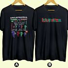 90s 1993 LOLLAPALOOZA Music Festival T-Shirt Cotton 100% image