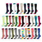 1Pair Mens Women Compression Socks Running Medical Sports Calf Support Stockings $3.79 USD on eBay