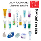 AVON FootWorks Foot Care Treatments @ Clearance Prices **FREE P&P** MULTIBUYS