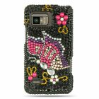 For Motorola Droid Bionic XT875 Hard Plastic Diamond Prective Case Cover