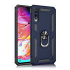 For Samsung Galaxy A9 A8 A7 A6 2018Military Armor Case Magnetic Ring Stand Cover