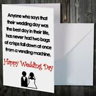 Greetings Card Comedy Novelty Funny Humour Wedding GROOM $15.46 USD on eBay