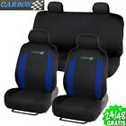 Funda de Asiento Universal Coche transpirable protector 7 pcs Relieve Asientos