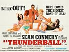 Vintage Movie Poster - James Bond - Thunderball (A4 and A3) £8.8 GBP on eBay
