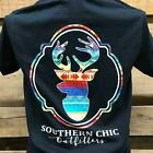 Southern Chics Outfitters Tribal Deer Bright Girlie T Shirt