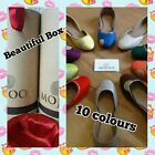 MOJOOS Unique Handmade Leather Flat Shoes Slip On 4 5 6 7 8 Women Ladies Girls <br/> FREE Beautiful Gift Box - CLEARANCE SALE - RRP £89