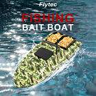Flytec V007 RC Fishing Boat Intelligent Yaw Correction Remote Control Bait T3V8 $106.97 USD on eBay