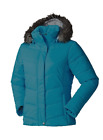 Columbia Women's Simply Snowy Insulated Hooded Winter Jacket Blue NWT S L XS