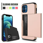 For iPhone 11 Pro Max Shockproof Case Cover With Wallet Credit Card Holder Slot