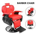 Hydraulic Recline Barber Chair Heavy Duty Shampoo Salon Beauty Hair Stylist Spa