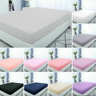 Fitted Sheet Brushed Ultra Comfortable Soft High Quality Microfiber Sheets image