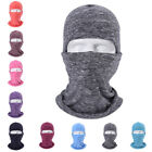 Unisex Cycling Full Face Mask Adjustable Balaclava Neck Warmer Thermal Windproof