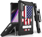 Rugged Tri-Shield Case + Belt Clip for Samsung Galaxy Note 10 - Patriotic Series