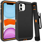 iphone 11 Defender Case With Screen Protector Fits Otter box (multiple color)