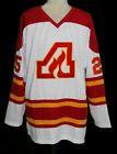 ATLANTA FLAMES RETRO HOCKEY JERSEY WILLI PLETT SEWN NEW ANY SIZE