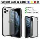 For iPhone 11 Pro Max Shockproof Crystal Clear Armor Case Protective Silm Cover