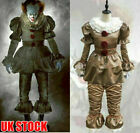 Halloween Cosplay Fancy Dress For Stephen King It Pennywise Clown Costume Outfit