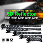 8 14 20 26'' Single Row 6D Led Work Light Bar Combo Beam Offroad  4x4 4WD ATV $27.05 CAD on eBay