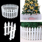50pcs Christmas Xmas Picket Fence Garden Fencing Lawn  Home Yard Tree Fence Uk