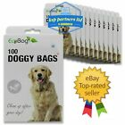 Dog Poo Premium Scented Poop Bags Extra Strong Tie Handles Doggy