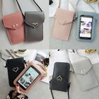 Women Wallet Purse Leather Coin Cell Phone Mini Cross-body Shoulder Bag 41