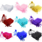 Kyпить 100/200 pcs Organza Wedding Party Favor Decoration Gift Candy Sheer Bags Pouches на еВаy.соm