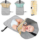 Kyпить 3 in 1 Folded Waterproof Baby Changing Pad Mat Clutch Diaper Change Station #hs на еВаy.соm