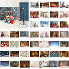 Christmas Background Cloth Snows Santa Claus Xmas DIY Decor Photo Studio Props