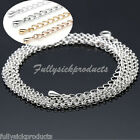3134inches Long Round Ball Long Chain Silver/Gold Plated Necklace for Craft DIY image