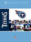 Football: NFL Greatest Games Series: Tennessee Titans: 3 Greatest Games (3-DVD) $17.25 USD on eBay