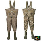 NEW BANDED GEAR REDZONE RZ-X 1.5 YOUTH BREATHABLE INSULATED CAMO CHEST WADERS