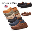 Внешний вид - Bruno Marc Men Driving Loafers Dress Shoes Casual Slip On Flat Moccasins 6.5-15