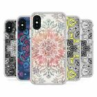 MICKLYN LE FEUVRE MANDALA WHITE SHOCKPROOF BUMPER CASE FOR APPLE iPHONE PHONES