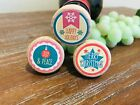 Retro Christmas Wine Stoppers Wine Corks Holiday Wine Stopper Christmas Gift