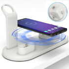 6in1 Qi Wireless Charger Dock Pad For Apple Watch1/2/3/4/5 Air pods iPhone Xs11