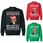 Barak Obama Miss Me Yet Democrat Liberal Xmas Sweatshirt Ugly Christmas Sweater