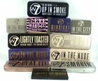 W7 Eyeshadow Palette Collection in tin choose Nude / Smokey /Bronzes Naturals