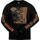Snake Harley-Davidson Men's Roll Call Long Sleeve Shirt R003276 $38.0 USD on eBay