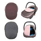 Infant Car Seat Cover Weather Resistant Canopy Baby Car Seats Warm Winter US TTT