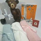 New Cellular Baby Blanket,100% Cotton,for Prams,Travel Cots,Swaddling,Breathable