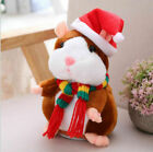 Santa Cheeky Hamster Talking Nodding Sound Mouse Pet Christmas Kids Baby Gift