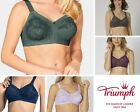 Triumph Doreen Classic Full Cup Non Wired Bra Smokey Green or Deep Water Blue $36.14 USD on eBay