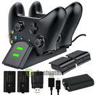 4 Rechargeable Battery Pack+USB Charging Dock/Dual Charging Station For Xbox One for sale  Shipping to South Africa