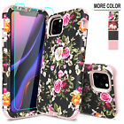For iPhone 11 Pro Max Hybrid Case Full Protective Armor Cover + Screen Protector