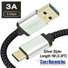 USB C CABLE 3.1 Gen 1 SUPERSPEED 3.0 for MOTOROLA CELL MOBILE PHONE CHARGER CORD
