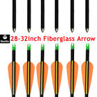28/30/32inch Safety Fiberglass Arrow Youth Archery Hunting Target Practice Arrow