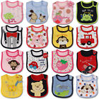 Внешний вид - Baby Girl Boy Waterproof Cartoon Towel Kids Toddler Dinner Feeding Bibs