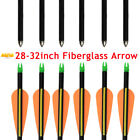 28-32inch Safety Fiberglass Arrow Youth Archery Target Practice for Compound Bow