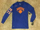 $45 Nike NBA Legacy New York Knicks Long sleeved Shirt S M L XL XXL Dri-Fit on eBay